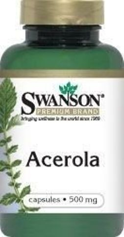 SWANSON Acerola 500mg x 60 kapsułek