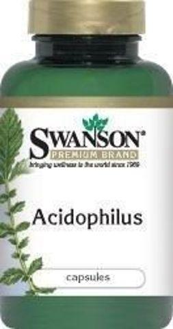 SWANSON Acidophilus x 250 kapsułek