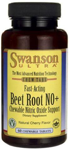 SWANSON Beet Root NO+ x 60 kapsułek - data ważności 31-08-2017r.