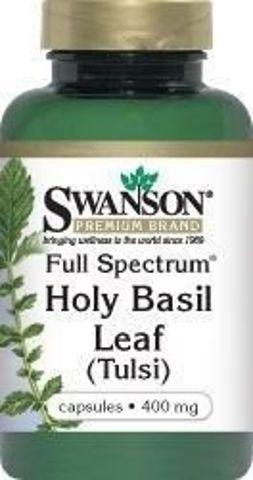 SWANSON Full Spectrum Holy Basil 400mg x 120 kapsułek