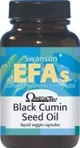 SWANSON Olej z nasion czarnego kminu x 60 kapsułek