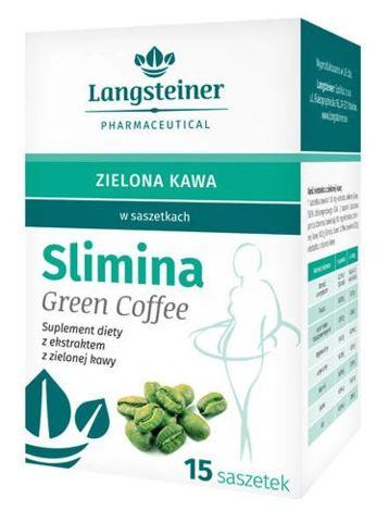 Slimina Green Coffee x 15 saszetek