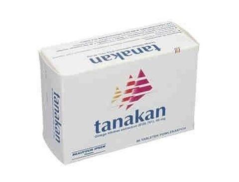TANAKAN x 30 tabletek