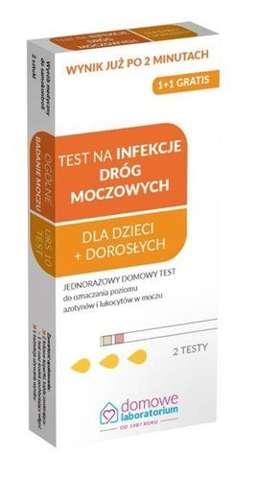 TEST na infekcje dróg moczowych x 1 opakowanie (2 sztuki)