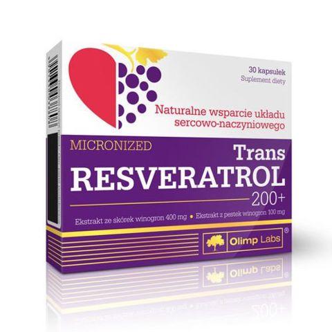 TRANS RESVERATROL 200+ mikronizowany x 30 kapsułek