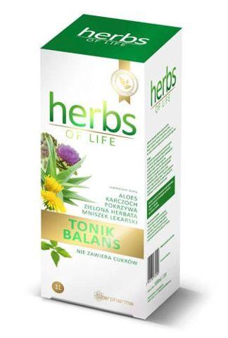 Tonik Balans Herb of Life płyn 1000ml