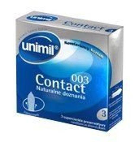 UNIMIL Contact 003 prezerwatywy x 3szt.