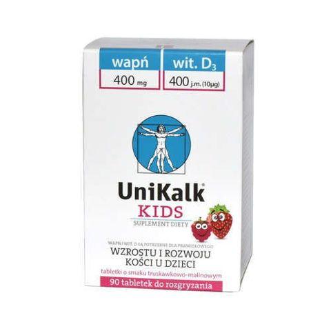 UniKalk Kids tabletki do rozgryzania x 90 sztuk