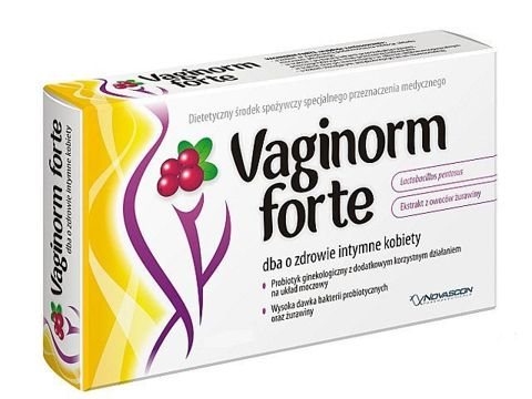 VAGINORM FORTE x 10 kapsułek