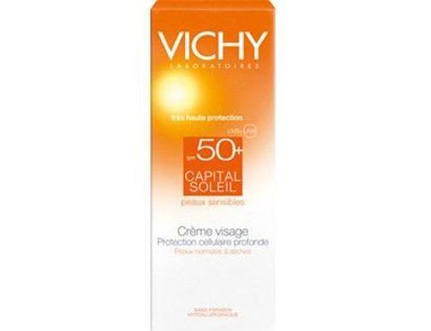VICHY CAPITAL SOLEIL Krem ochronny do twarzy SPF50+ 50ml