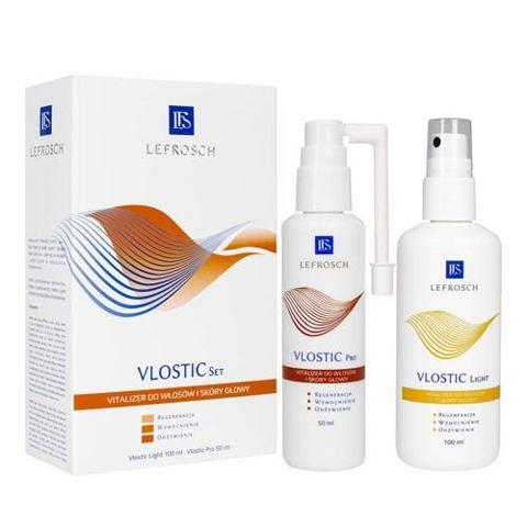 VLOSTIC Set Vitalizer do włosów i skóry głowy Light 100ml + Vlostic Pro 50ml