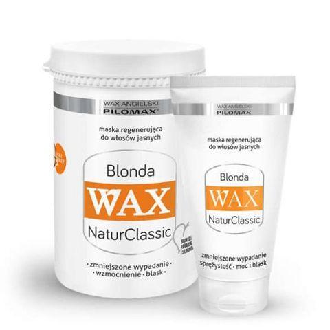 WAX Pilomax NaturClassic Blonda maska regenerująca do włosów jasnych 240ml