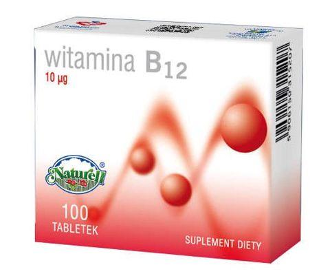 WITAMINA B12 10 µg x 100 tabletek