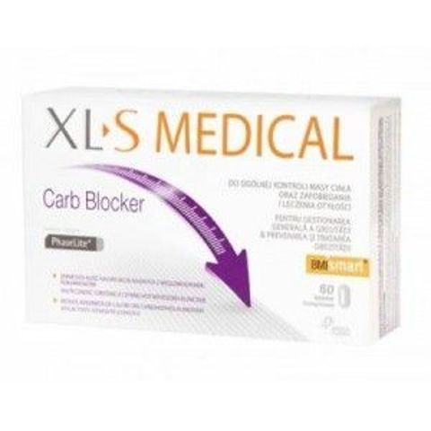 XL-S Medical Carb Blocker 60 tabletek
