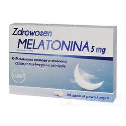 ZDROWOSEN MELATONINA 5mg x 30 tabletek