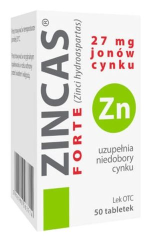 Zincas forte tabletki
