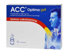 ACC Optima Hot 600mg/3g x 10 saszetek