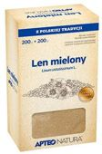 APTEO NATURA Len mielony 200g+200g