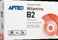 APTEO Witamina B2 3mg x 50 tabletek