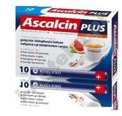 ASCALCIN Plus x 10 sasz. grejpfrutowy