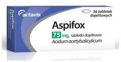 ASPIFOX 75mg x 56 tabletek