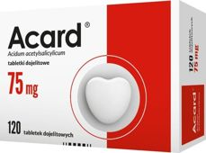 Acard 75mg x 120 tabletek