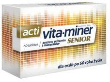 Acti Vita-miner Senior x 60 tabletek