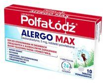 Alergo Max 5mg x 10 tabletek