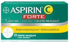 Aspirin C Forte x 10 tabletek musujących