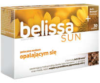 BELISSA Sun x 60 tabletek - data ważności 31-05-2019r.