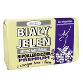 BIAŁY JELEŃ Hipoalergiczne mydło z ekstraktem z czarnego bzu 100g