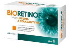 Bioretinof luteina z zeaksantyną x 60 tabletek