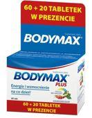 Bodymax Plus tabletki x 60+20 sztuk gratis!