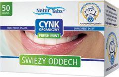 CYNK ORGANICZNY x 50 tabletek