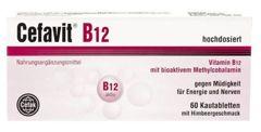 Cefavit B12 x 60 tabletek do żucia
