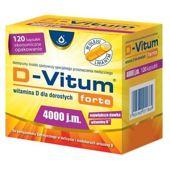 D-VITUM Forte 4000 j.m. x 120 kapsułek
