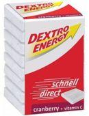 Dextro Energy pastylki z dekstrozą o smaku żurawinowym x 8 pastylek