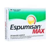 ESPUMISAN MAX x 20 kapsułek