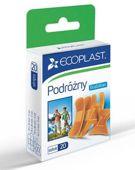 Ecoplast Zestaw plastrów opatrunkowych podróżny x 20 sztuk