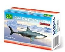 Ekogal olej z wątroby rekina grenlandzkiego x 100 kapsułek