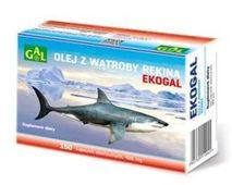 Ekogal olej z wątroby rekina grenlandzkiego x 150 kapsułek