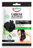 Equilibra Oczyszczająca maska do twarzy z aktywnym węglem x 1 sztuka