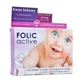 FOLIC ACTIVE x 30 tabletek