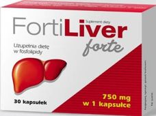 Fortiliver Forte 750mg x 30 kapsułek