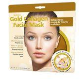 GLYSKINCARE Gold Collagen Facial Mask - kolagenowa maska ze złotem do twarzy x 1 sztuka