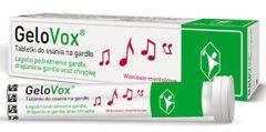 Gelovox smak wiśnia-menthol x 10 tabletek do ssania