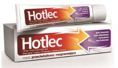 Hotlec maść przeciwbólowa i rozgrzewająca 30g