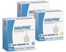 Insufine Igła do wstrzykiwaczy insulinowych 29g x 12mm x 25 sztuk
