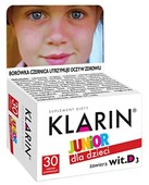 KLARIN Junior x 30 tabletek