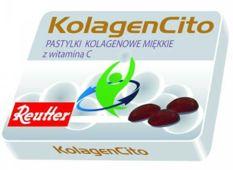 KolagenCito pastylki kolagenowe miękkie z witaminą C x 24 pastylki